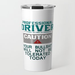 Truck Driver Safety Travel Mug