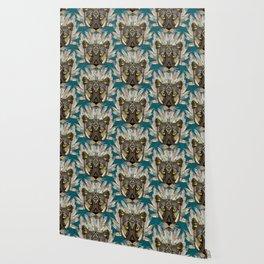 native mountain lion blue Wallpaper