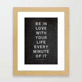 Jack Kerouac Quote no 2 Framed Art Print