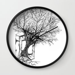 Replacing Nature with Knowledge Wall Clock