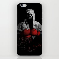 boxing iPhone & iPod Skins featuring Death Boxing by tshirtsz