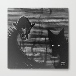 Wide Awake Metal Print