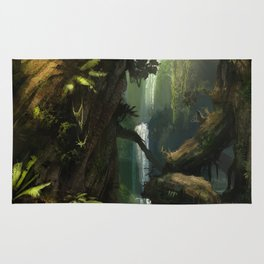 Realm of the Giant Trees | Concept Art Personal project Rug