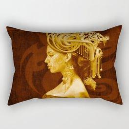 Crown Fashion Rectangular Pillow