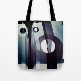 Modern abstract with geometric shapes Tote Bag