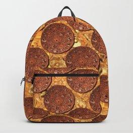 Medieval Coins Polka Dot Pattern Backpack