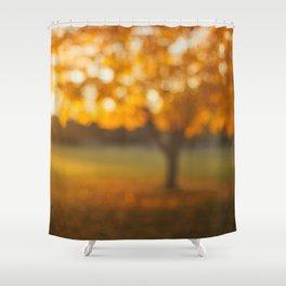 Oak Knoll Gold Shower Curtain