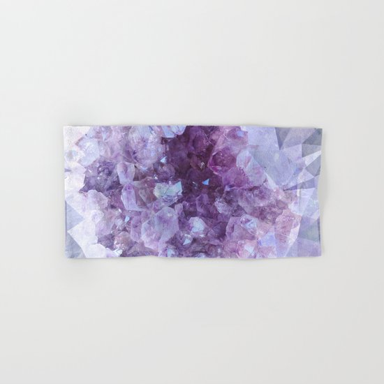 Crystal Gemstone Hand & Bath Towel