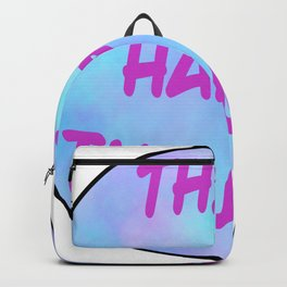 Think Happy Thoughts Backpack