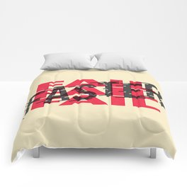 Fail Faster Comforters