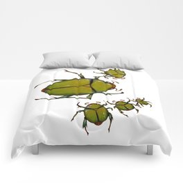 Beetles and bees Comforters