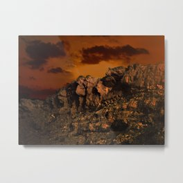 Magic in the Negev  Metal Print