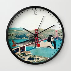 Mermaid Three Wall Clock
