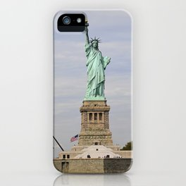 The Statue of Liberty: Front and Center iPhone Case
