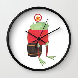 Proribbition Wall Clock