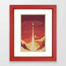 Atomic Sky Framed Art Print