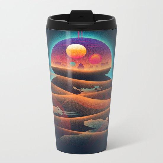 Droid-land Metal Travel Mug