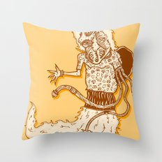 human evolution Throw Pillow