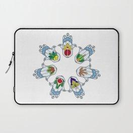 Seven Species Hamsa Laptop Sleeve