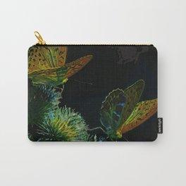 Orange Butterflies II Carry-All Pouch