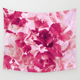 sweet peas variation Wall Tapestry