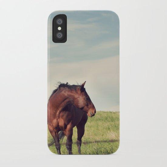 camera shy iPhone Case