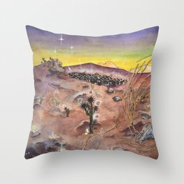 Nightvale Throw Pillow