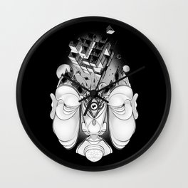 INTERIOR_BLACK Wall Clock