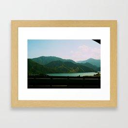 Interstate 5 Framed Art Print