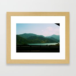 Interstate 5 Framed Art Print