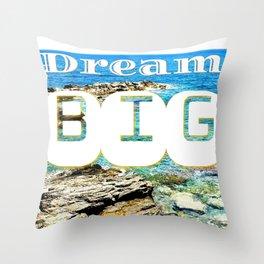 dream big island Throw Pillow