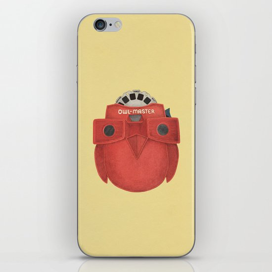 Owl-Master iPhone & iPod Skin