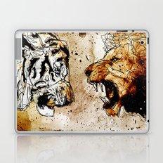 Lion vs Tiger Laptop & iPad Skin
