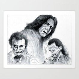 Villains  Art Print