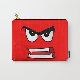 Angry Man Cartoon Carry-All Pouch