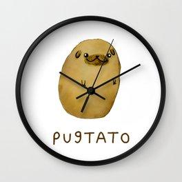 Pugtato Pugtato Wall Clock