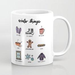 Winter Things Coffee Mug