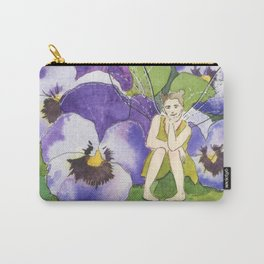 Pansy Faery Carry-All Pouch