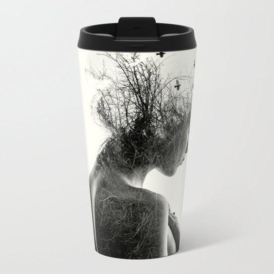 Nature Girl Metal Travel Mug