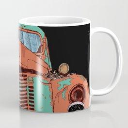 Art print: The old car (speed wagon) Coffee Mug