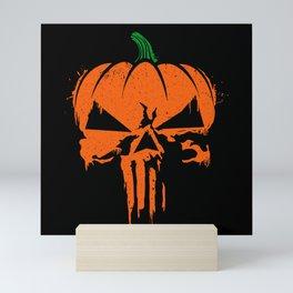 The Pumpkinsher Mini Art Print
