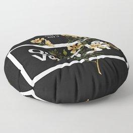 TOP Quiet Is Violent Floor Pillow