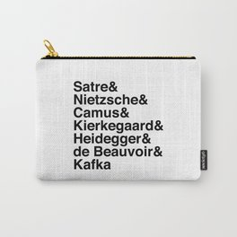 Helvetica Existentialists Carry-All Pouch