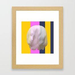 The soft kill bill floral Framed Art Print