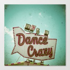 Dance Crazy Canvas Print