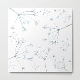 Hedgerow Seeds Metal Print