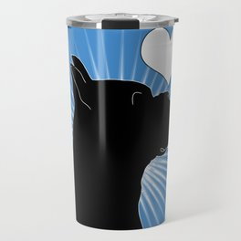 BOXER – My Companion - Blue Travel Mug