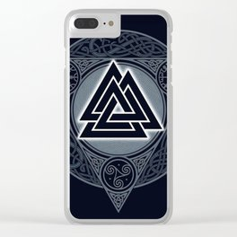 Vikings Clear iPhone Case