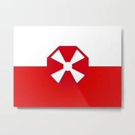 Flag of the Eighth Army Metal Print
