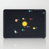 solar system iPad Cases featuring Solar System by Sara Showalter